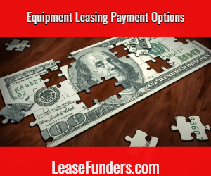 equipment leasing payment options
