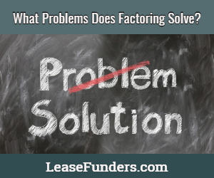 what problem does factoring solve