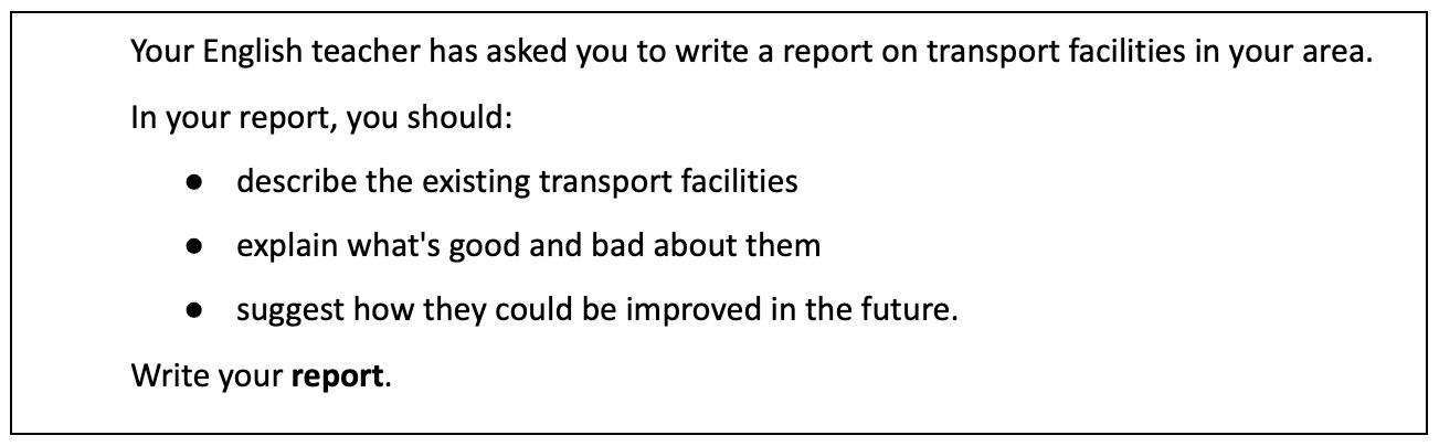 instrucciones ejemplo report b2