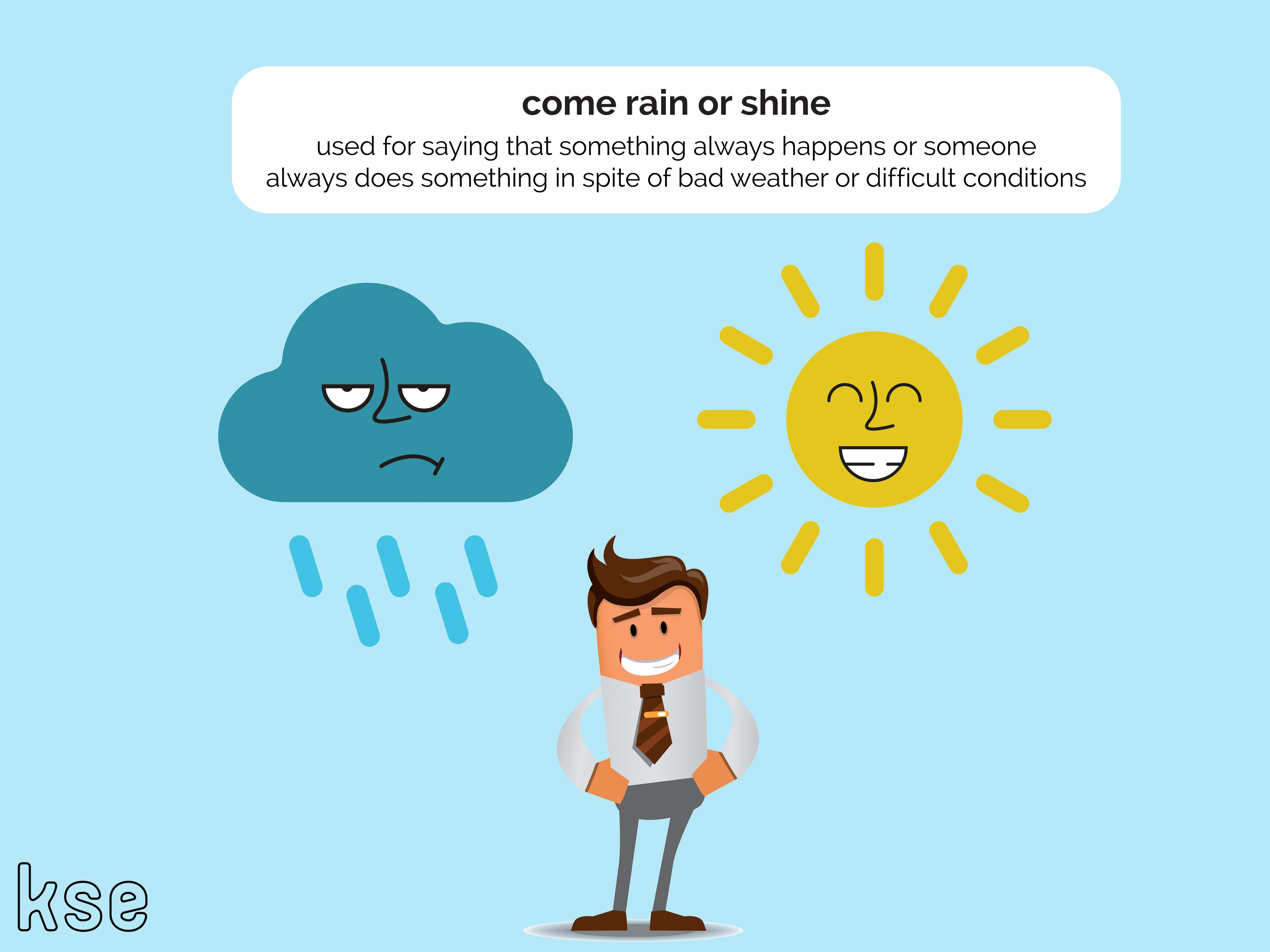 10 Weather Idioms You Need to Be Using | KSE Academy®