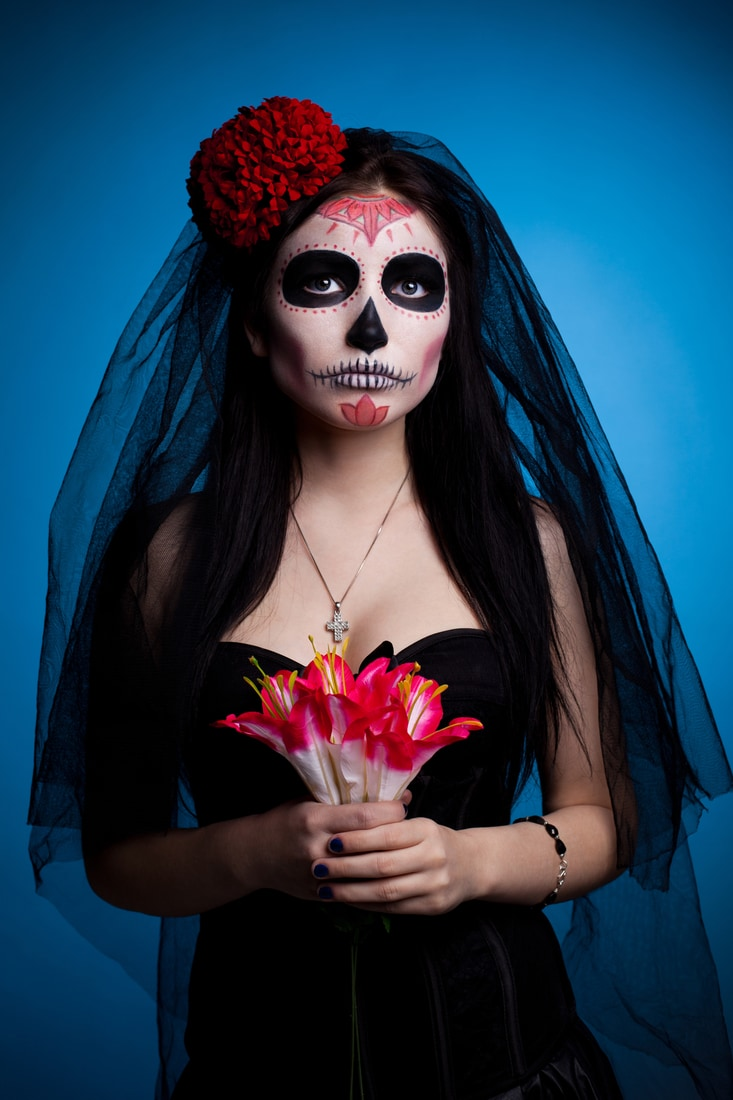 day of the dead original halloween costume