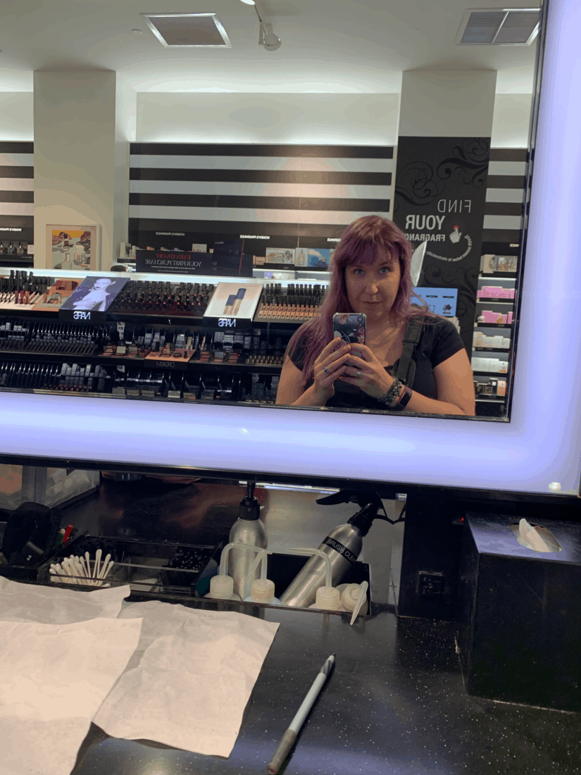 Having My Makeup Professionally Done at Sephora