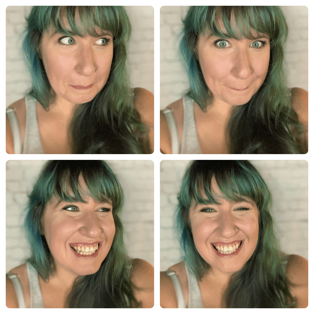 semi-permanent hair dye tips