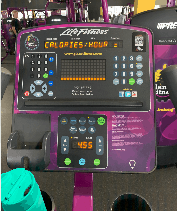36 Days of an Ultimatum - at Planet Fitness