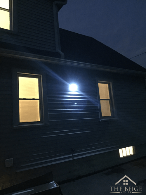 security-light-on