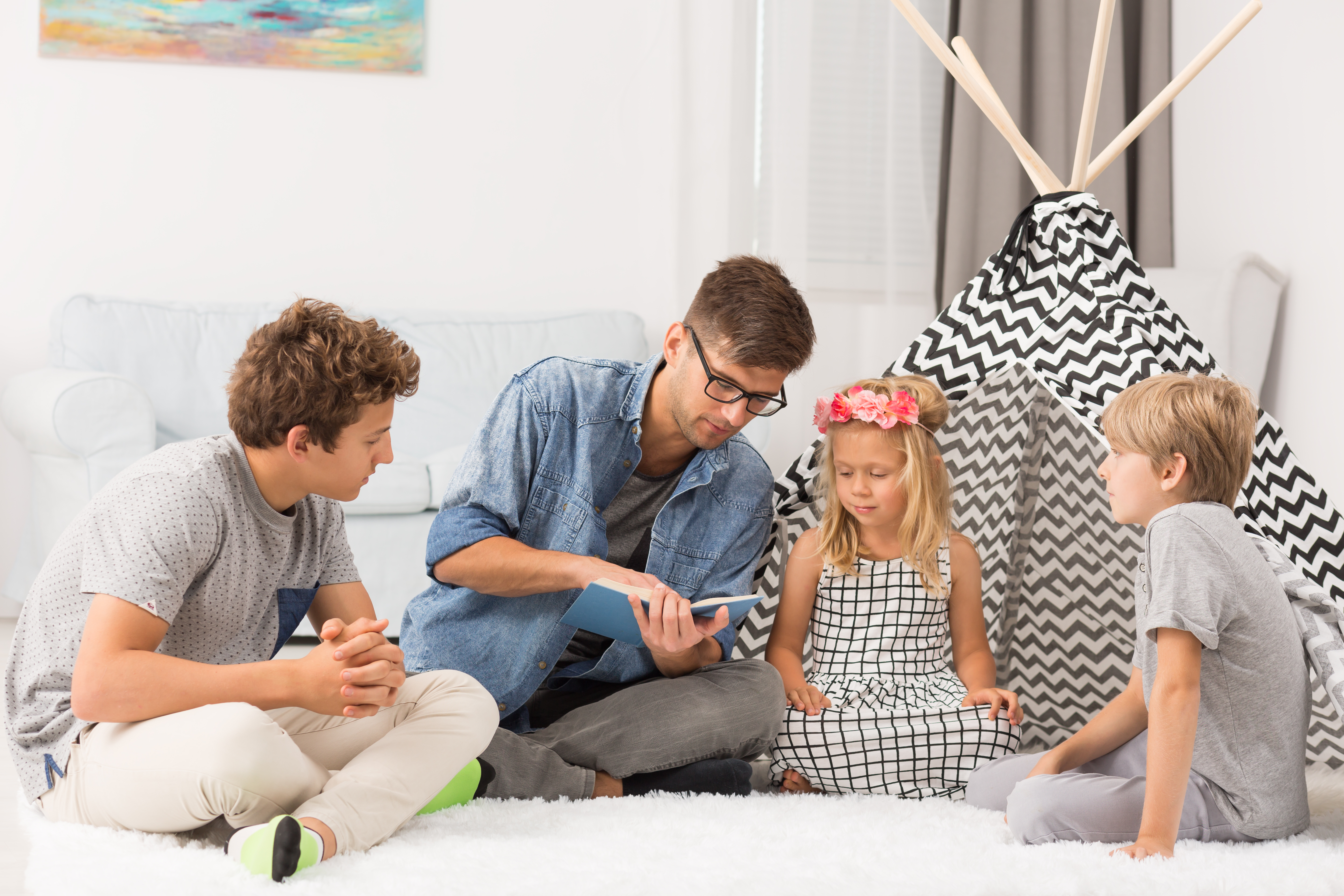 promote Strong Listening Skills in Your Children