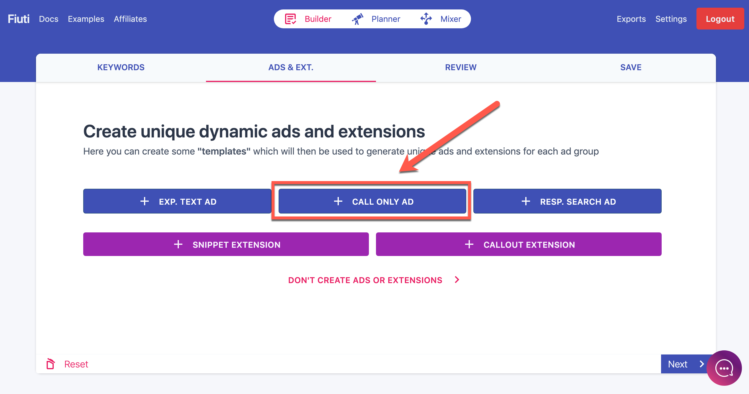call extentions for Google Ads campaigns