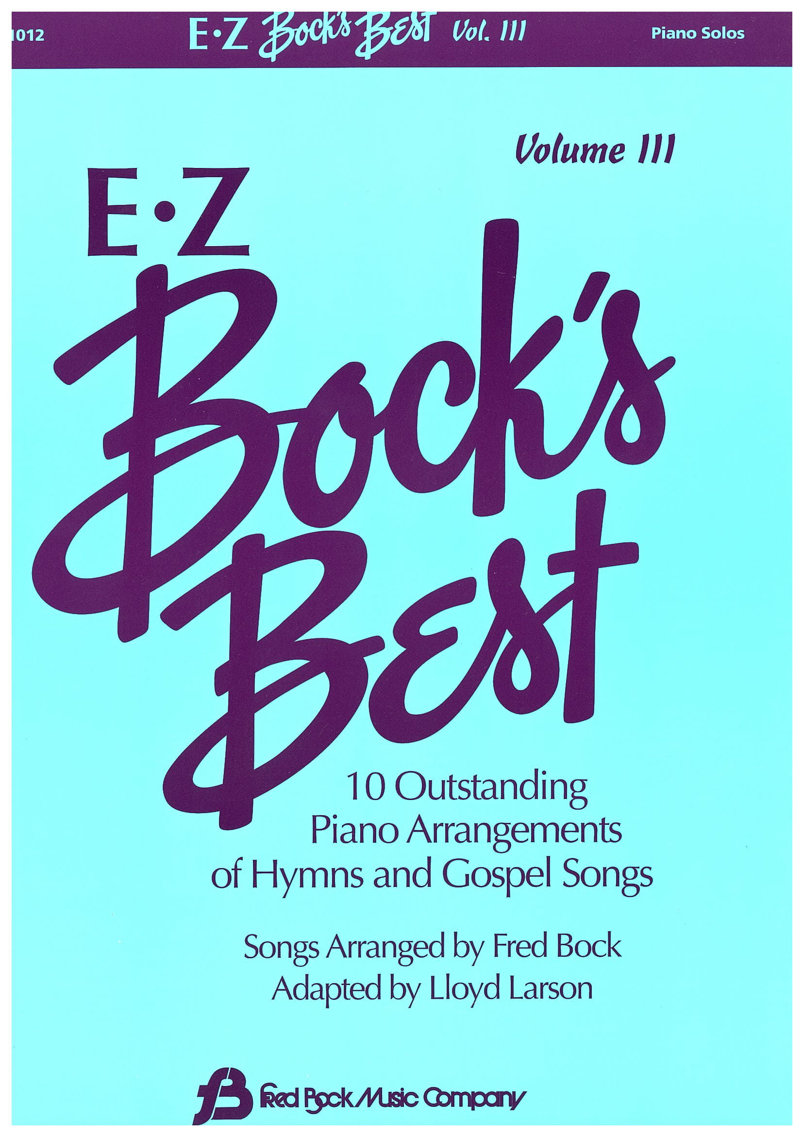 E Z Bock's Best    Volume 3