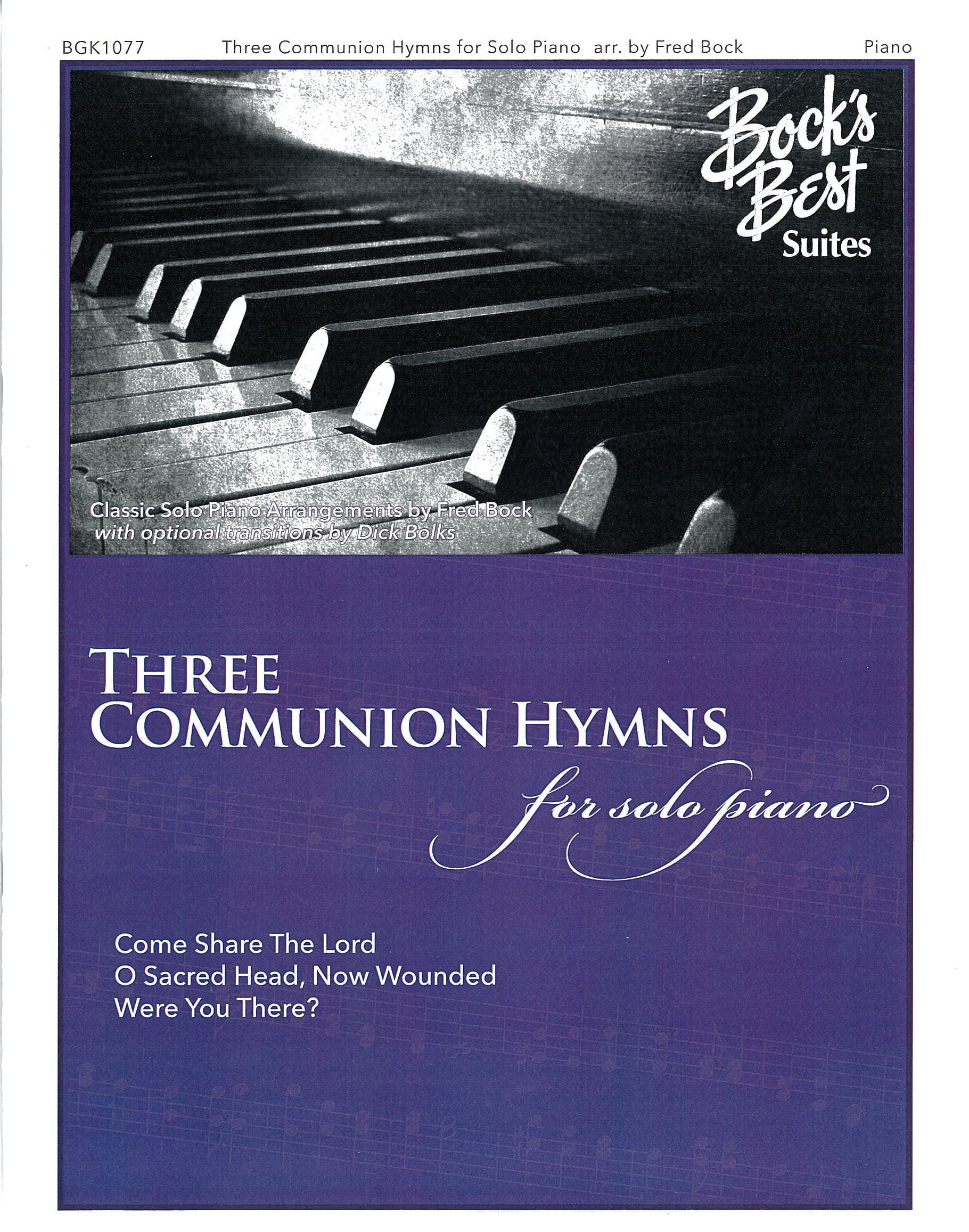 Three Communion Hymns