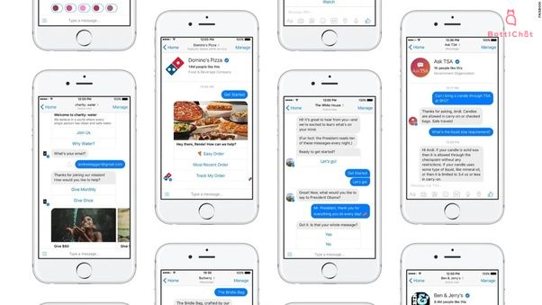 Messenger Chatbot Examples