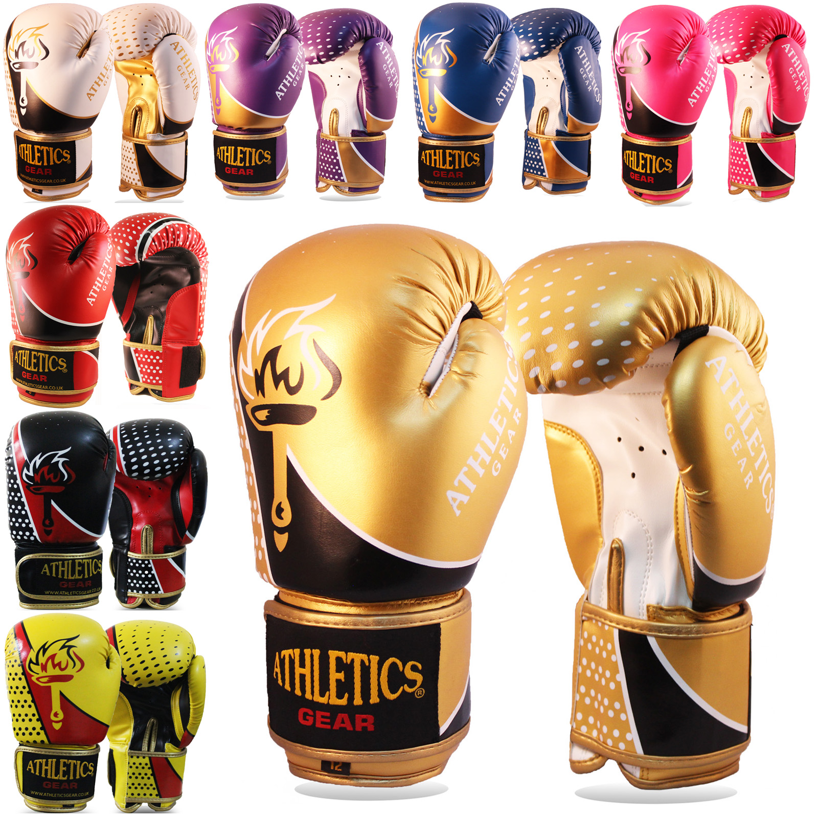 ROAR Boxing Gloves MMA Muay Thai Training 8oz 10oz 120z 14oz 16oz Punch Bag UFC