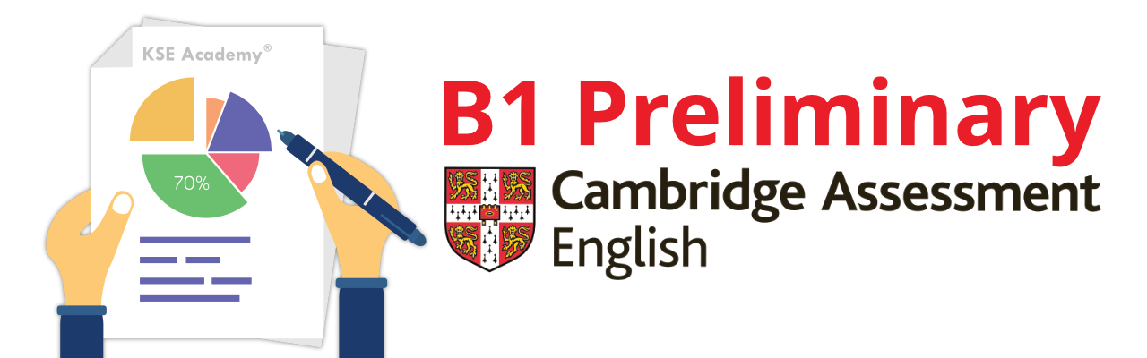 Calcular la nota del B1 Preliminary (PET) de Cambrirdge English