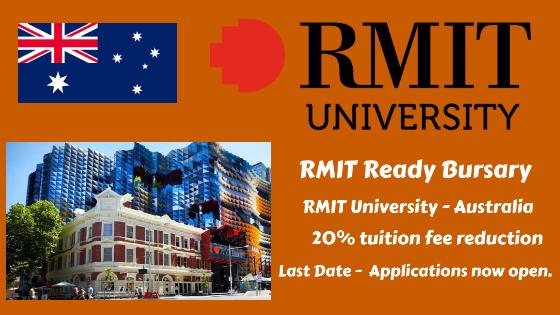 RMIT Ready Bursary for international students, RMIT University – Australia