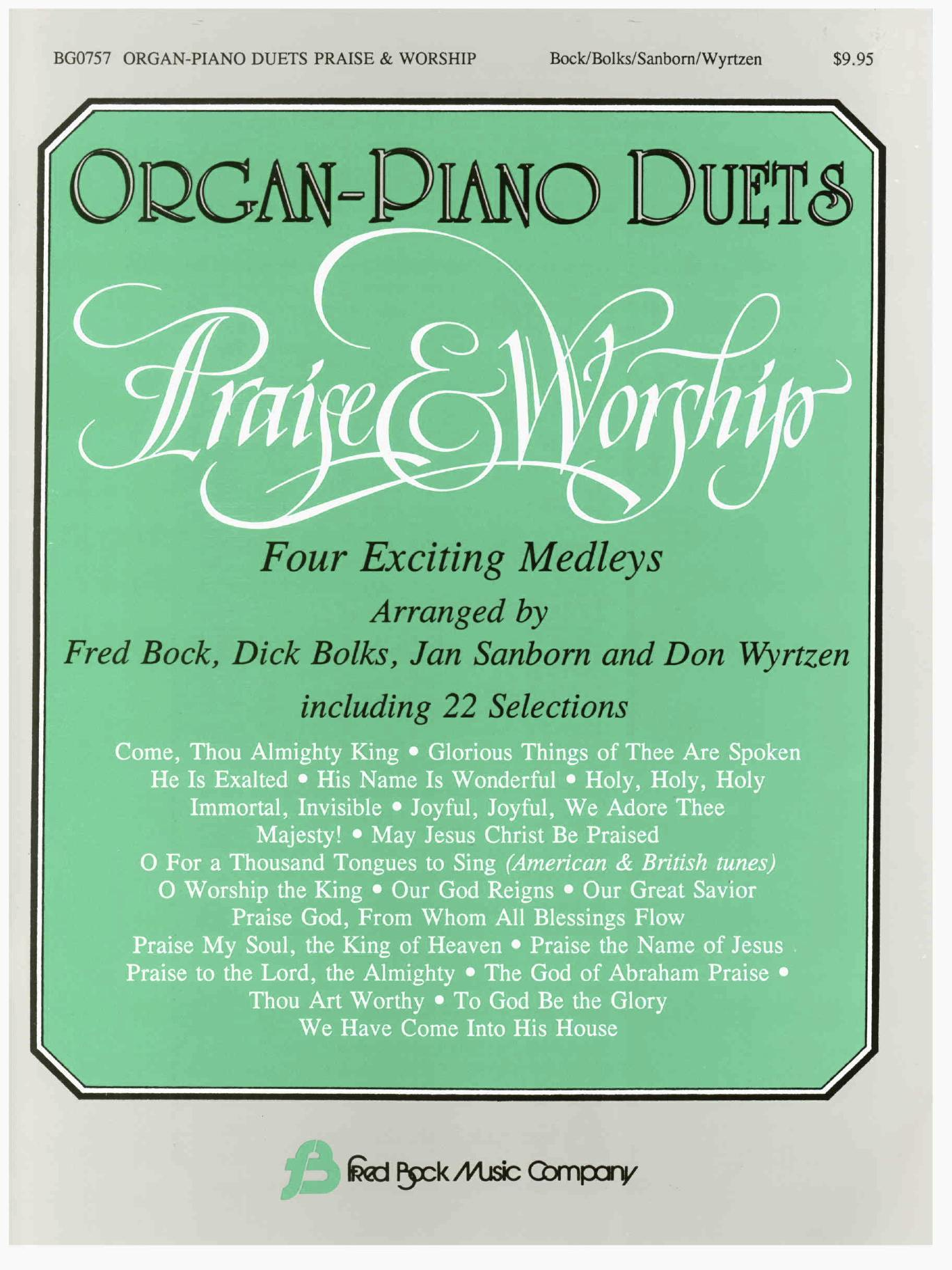 Praise & Worship Organ/Piano Duets
