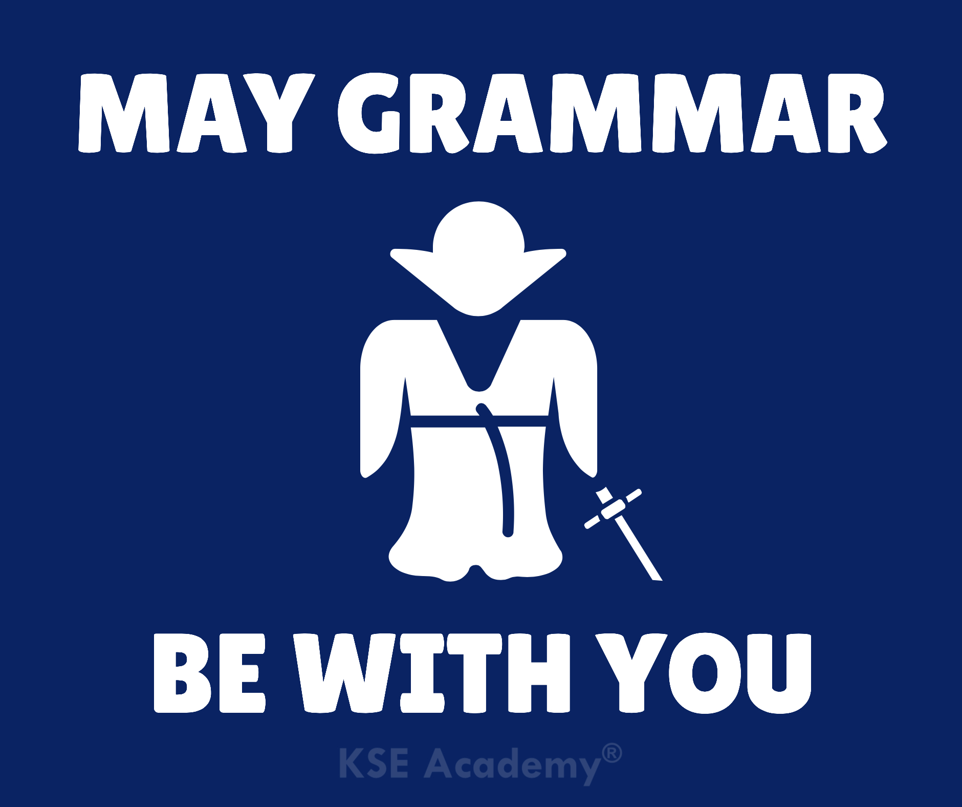 may grammar be with you
