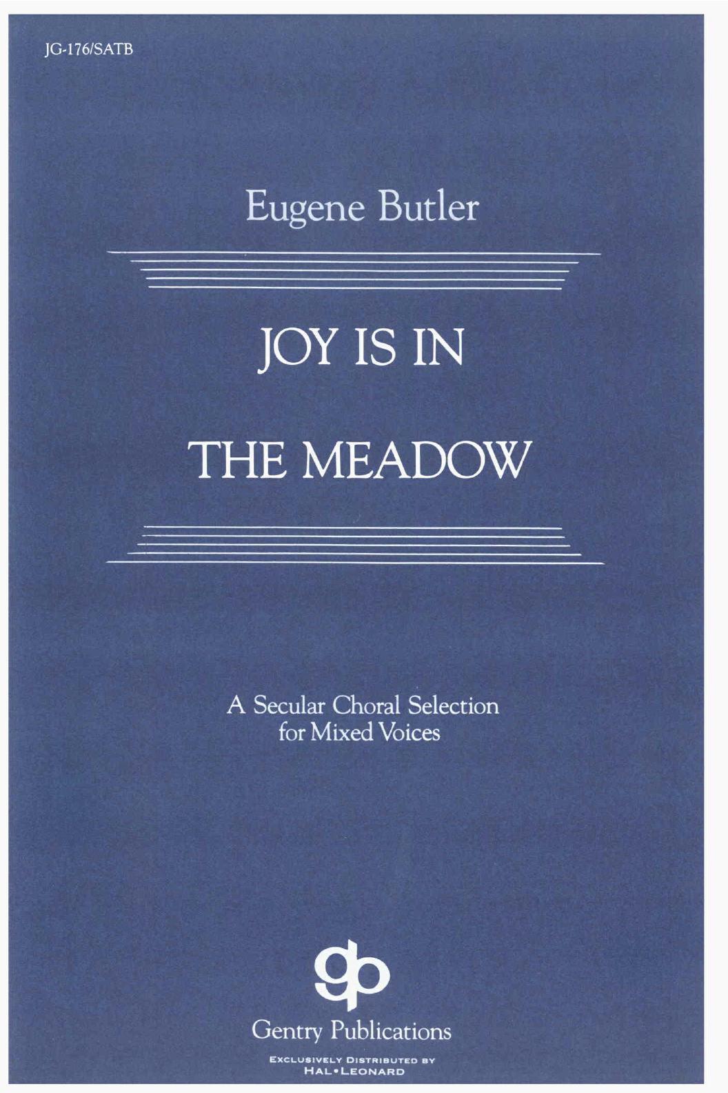 Joy Is In The Meadow