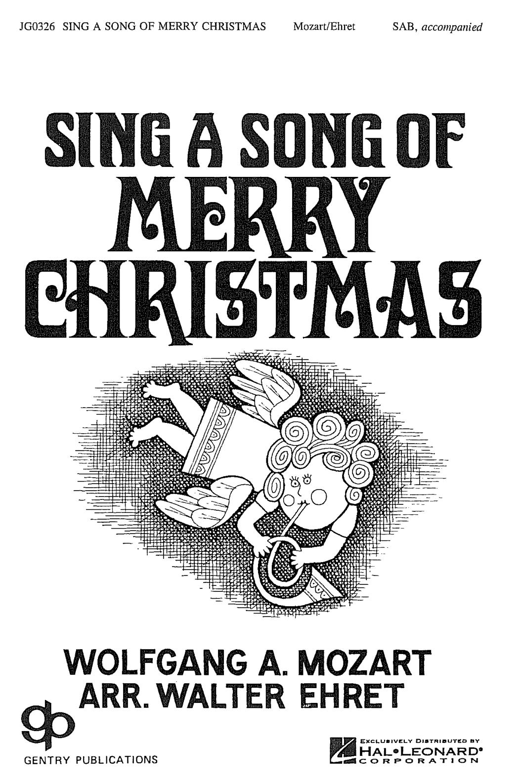 Sing A Song Of Merry  Christmas
