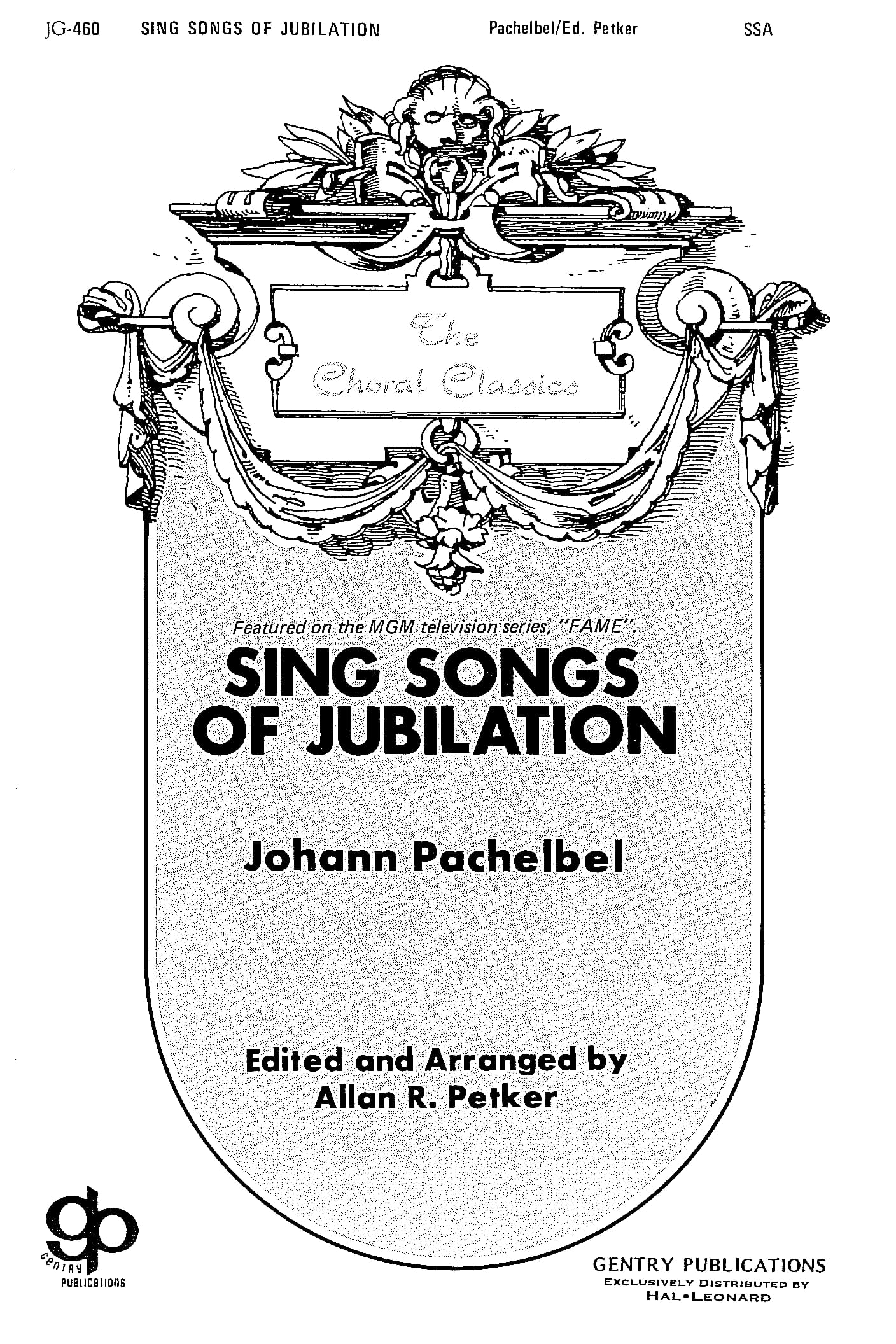 Sing Songs Of Jubilation