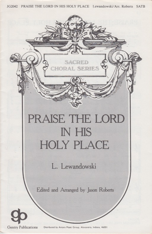 Praise The Lord In His Holy Place