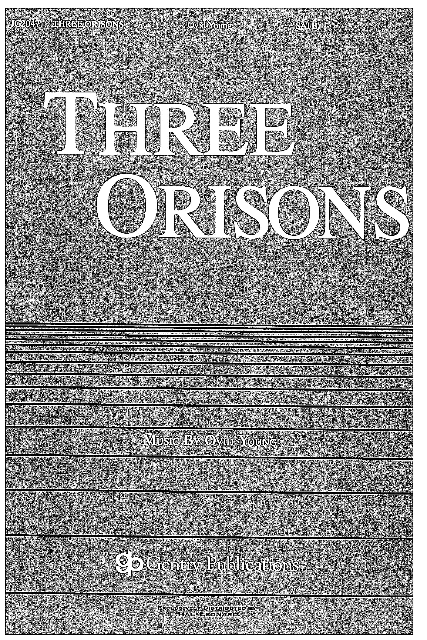 Three Orisons