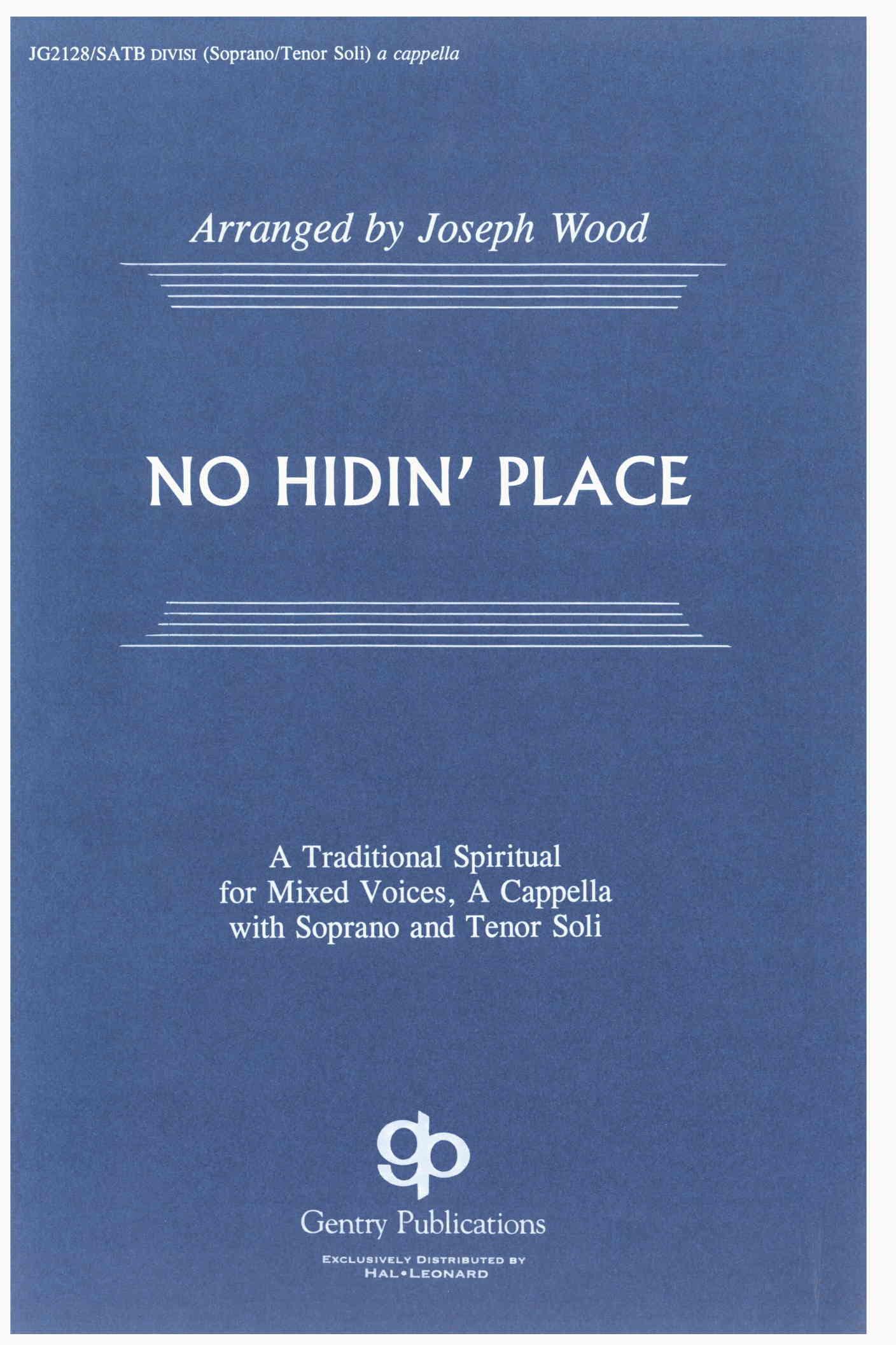 No Hidin' Place