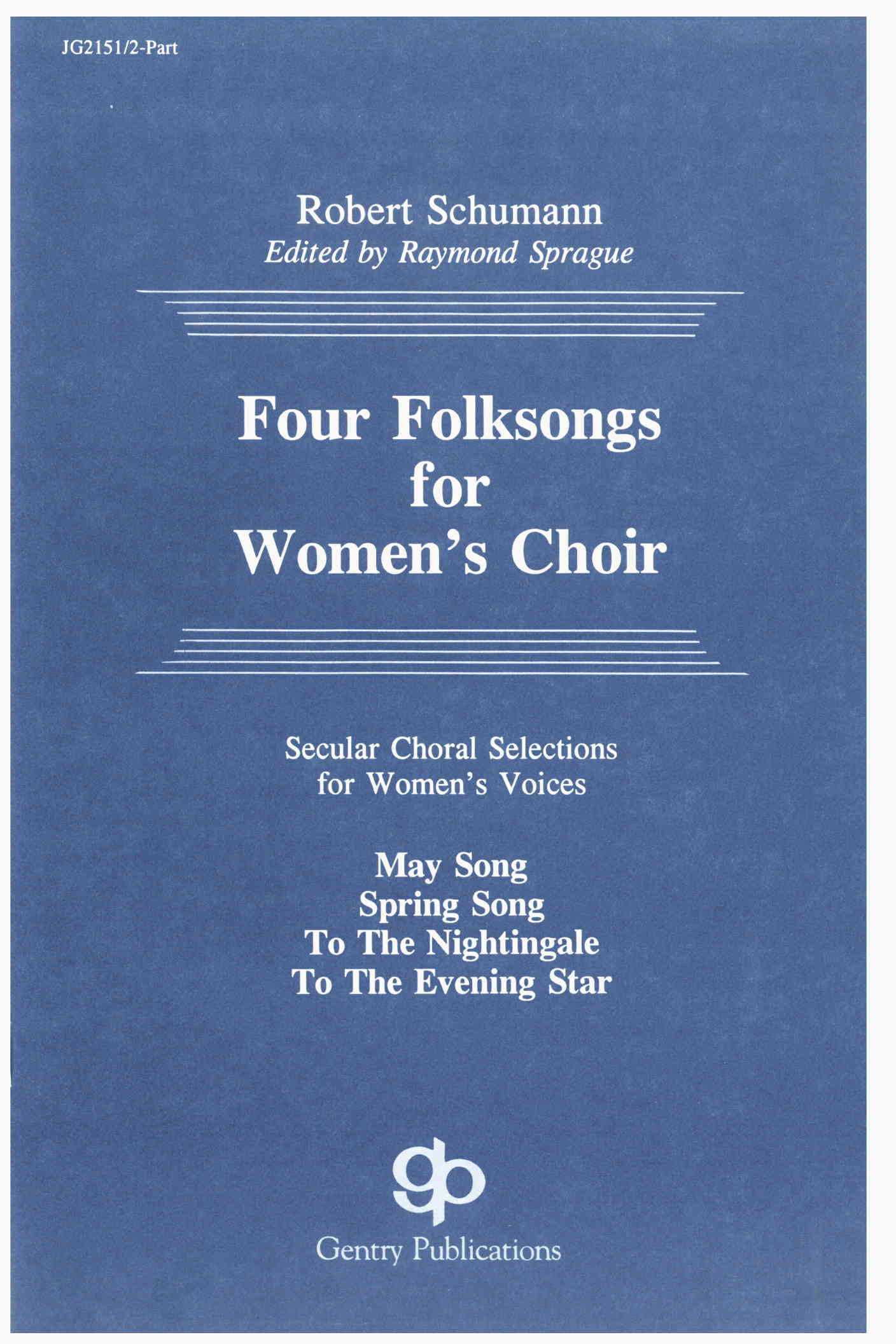 Four Folksongs For Women's Choir
