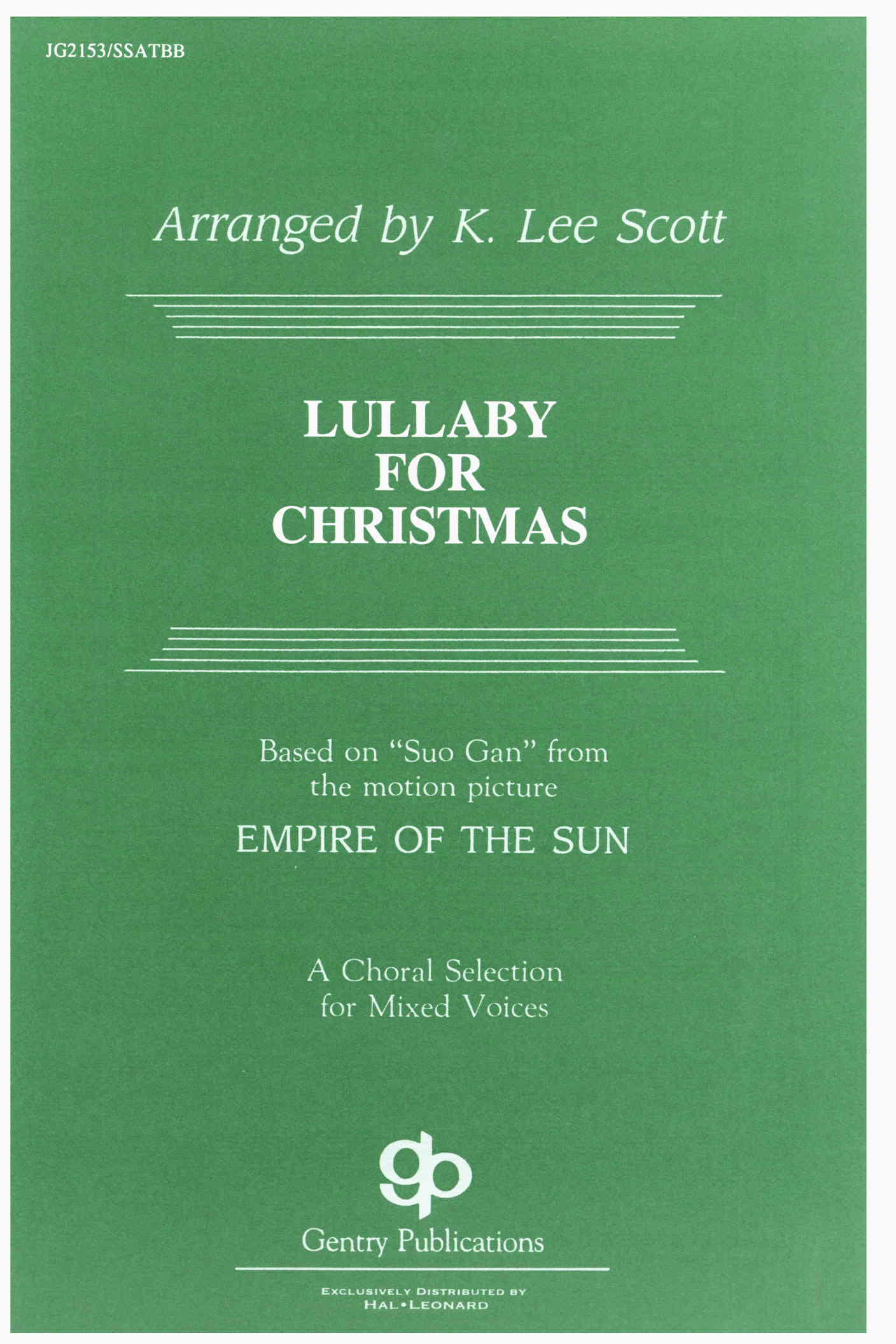 Lullaby For Christmas