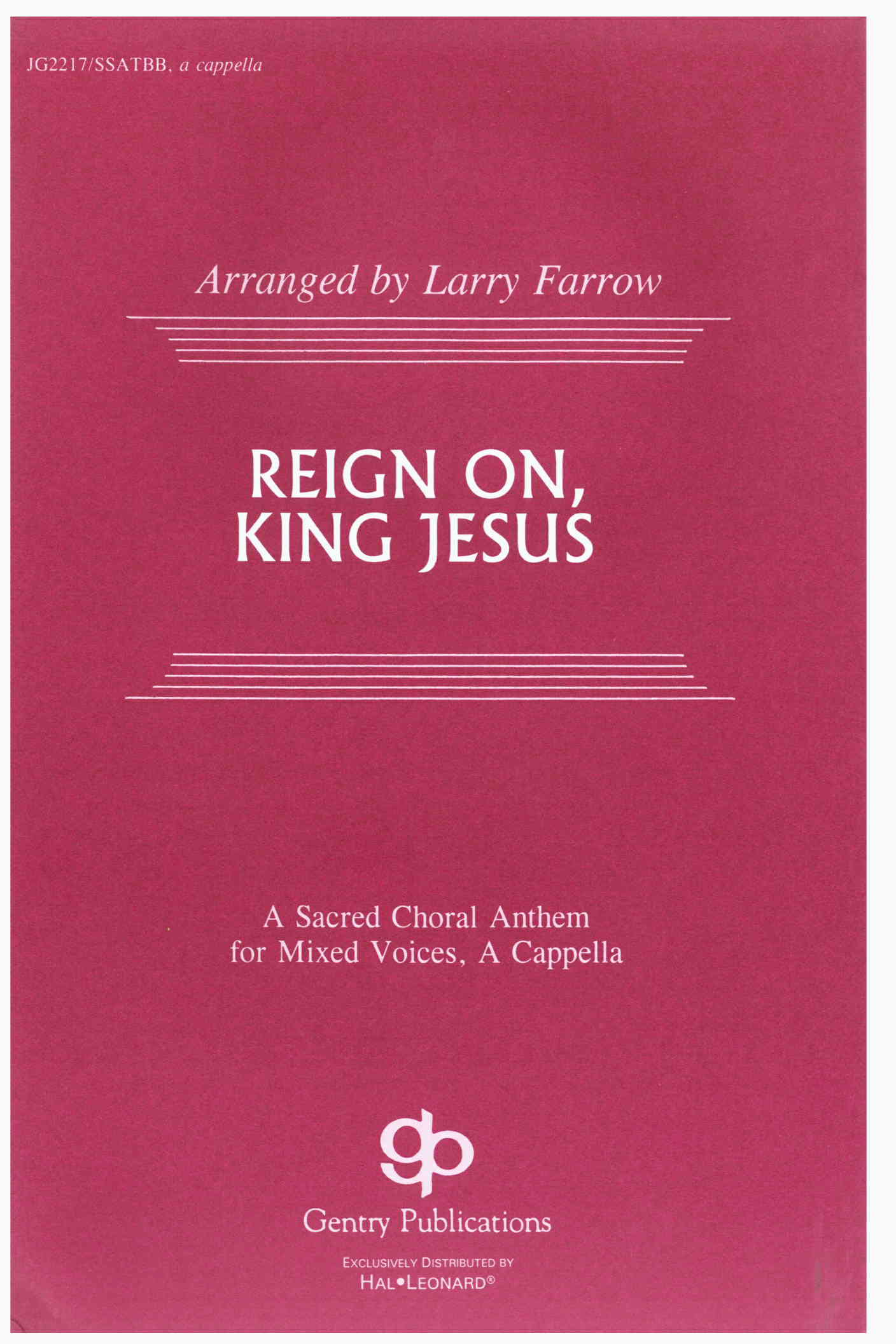 Reign On, King Jesus