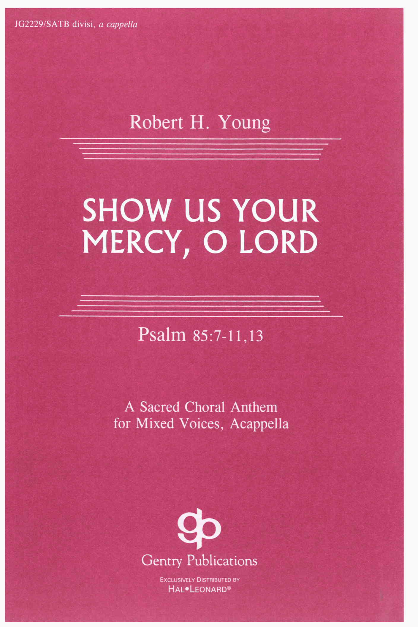 Show Us Your Mercy, O Lord