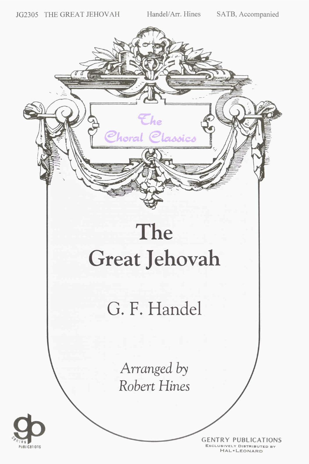 The Great Jehovah