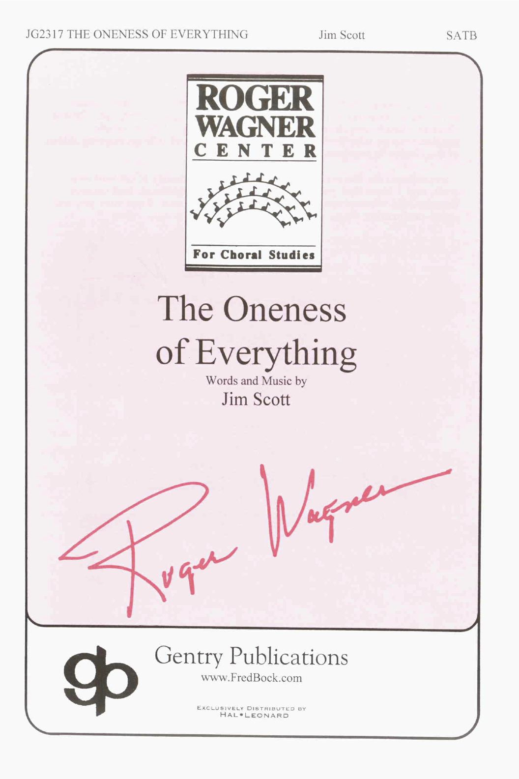 The Oneness Of Everything