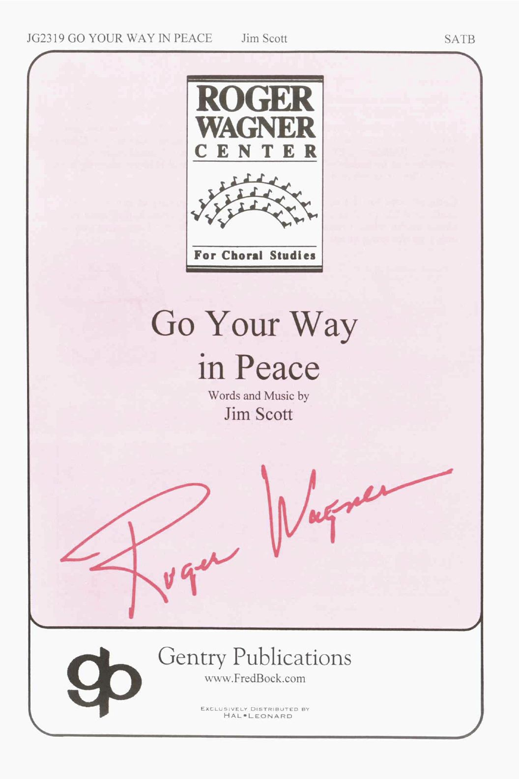 Go Your Way In Peace
