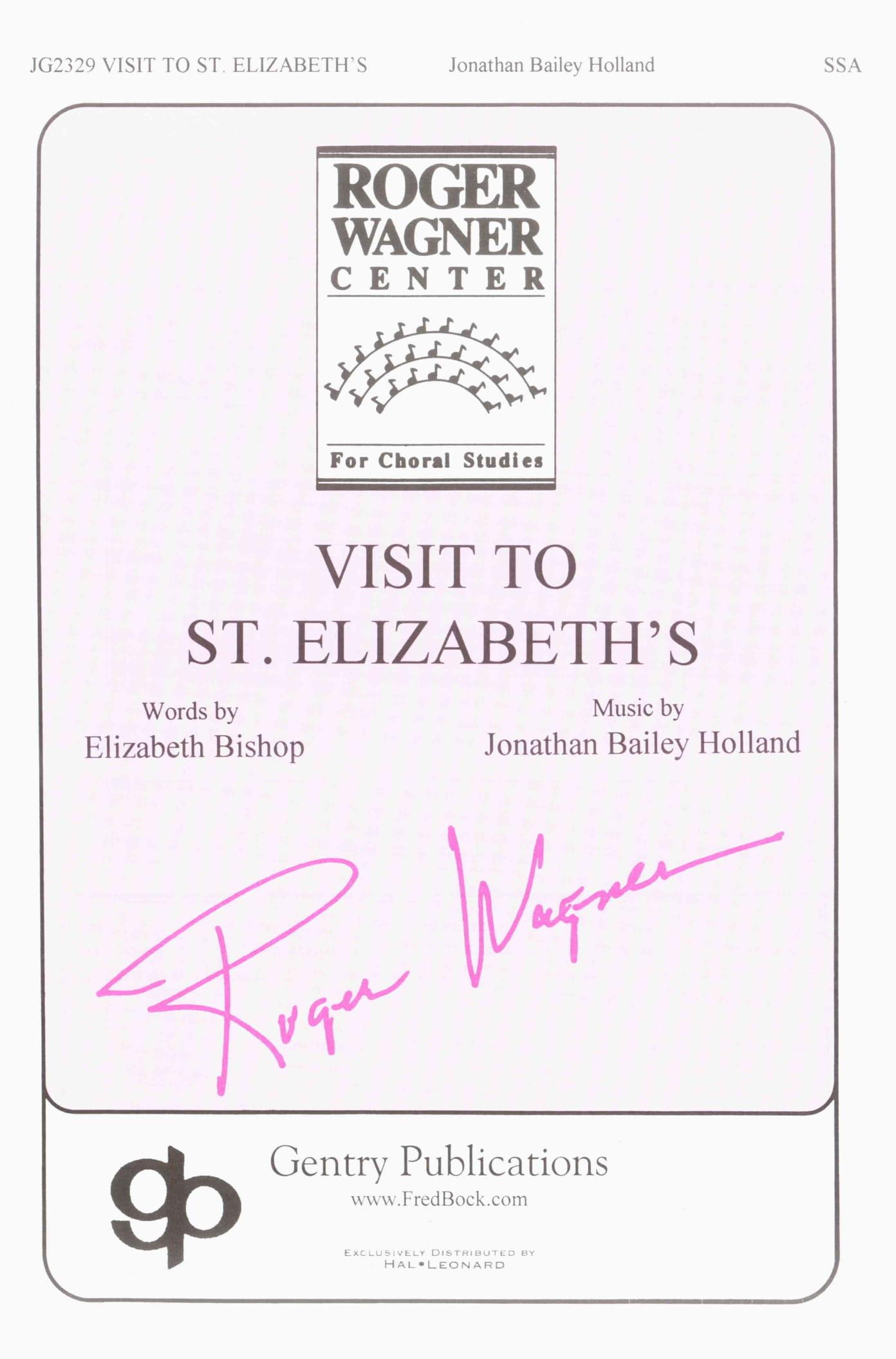 Visit To St. Elizabeth's