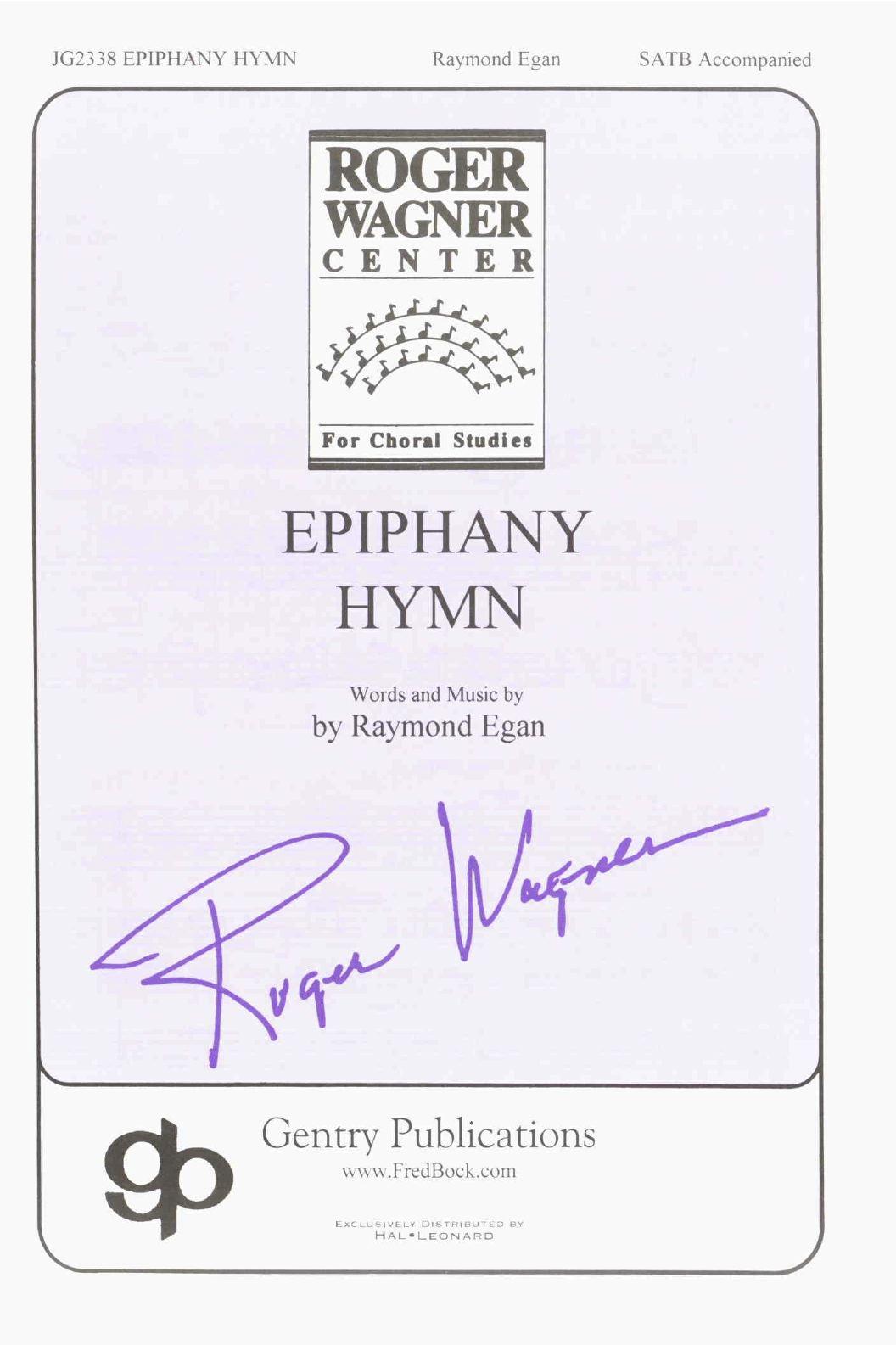 Epiphany Hymn