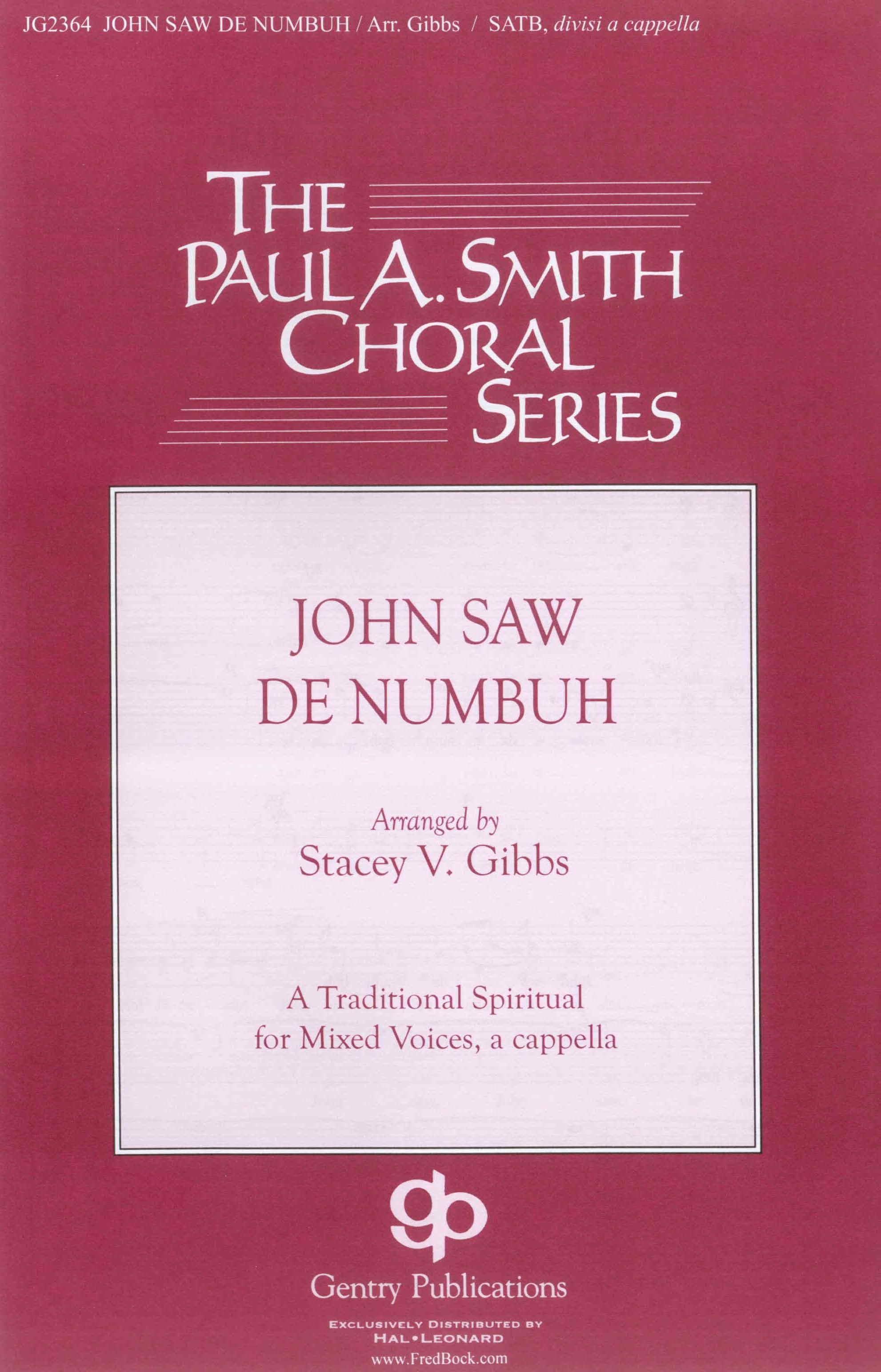 John Saw De Numbuh