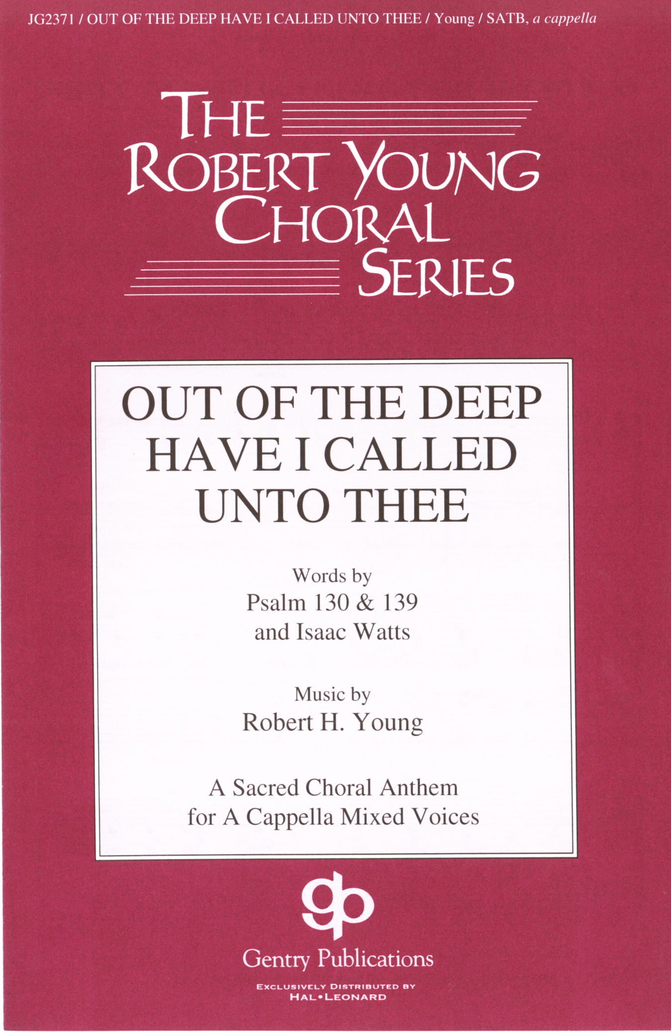 Out Of The Deep Have I Called Unto Thee