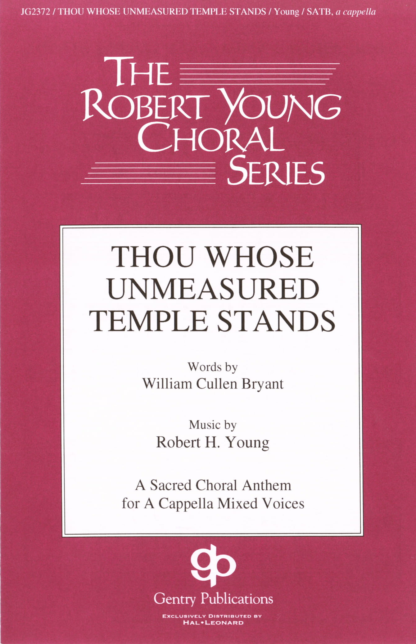 Thou Whose Unmeasured Temple Stands