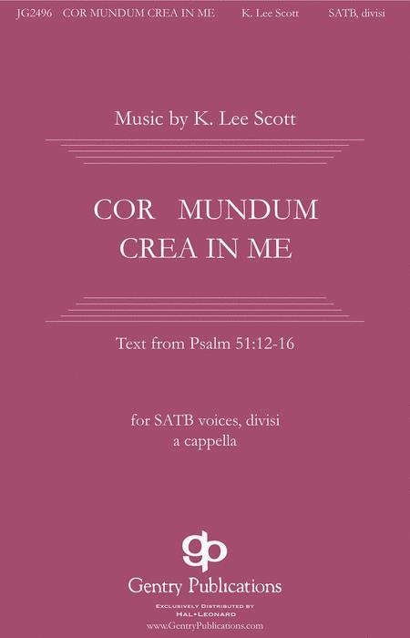 Cor Mundum Crea In Me