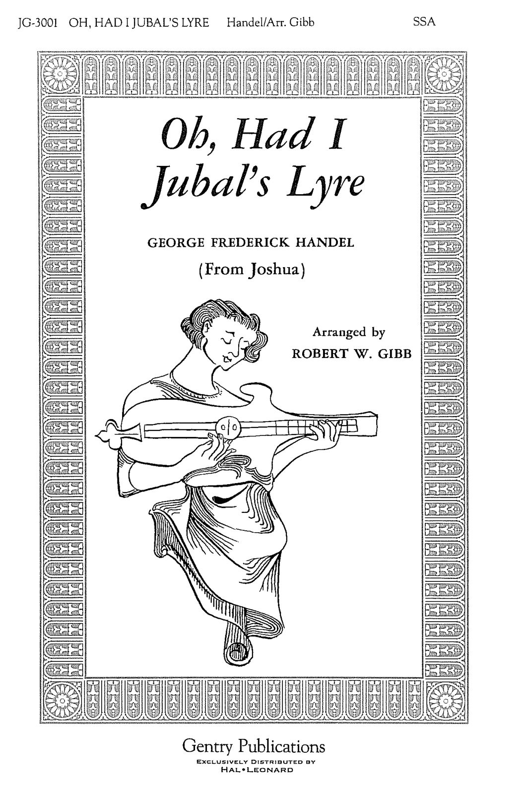 Oh, Had I Jubal's Lyre