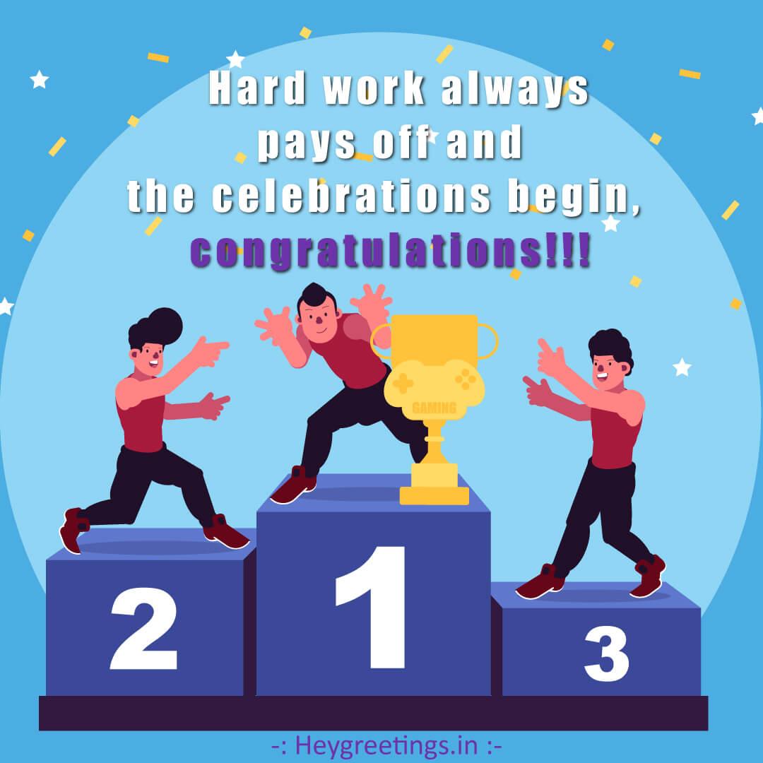 Congratulation Messages/ Quotes
