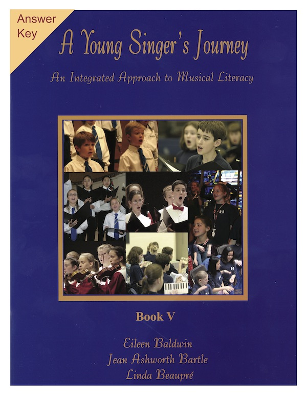 A Young Singer's Journey Workbook V - Answer Key