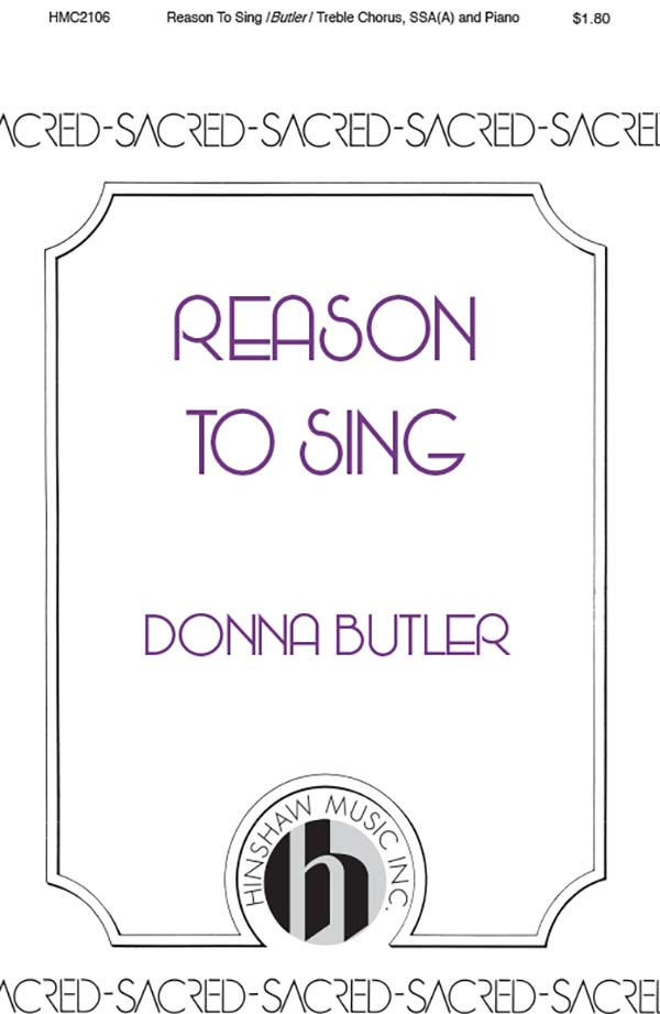 Reason To Sing