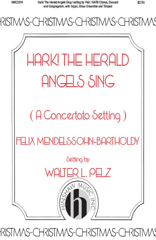 Hark, The Herald Angels Sing Concertato - Instrumentation