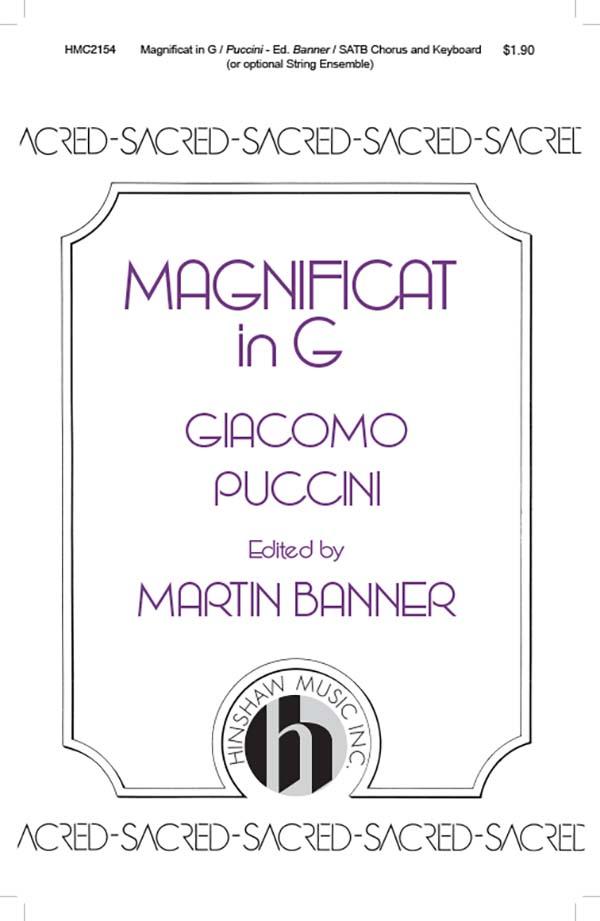 Magnificat In G-Instr.
