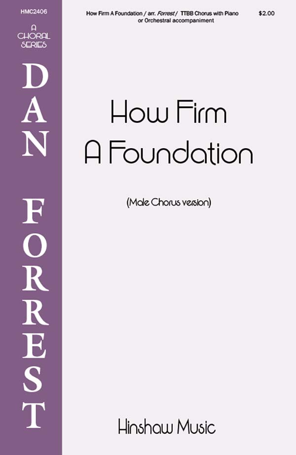 How Firm A Foundation (Ttbb)