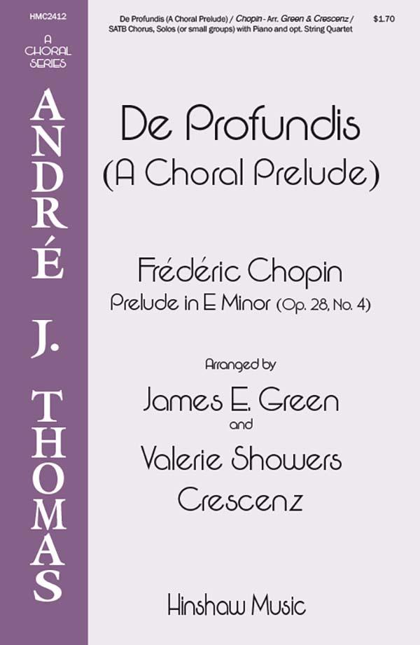 De Profundis (A Choral Prelude)