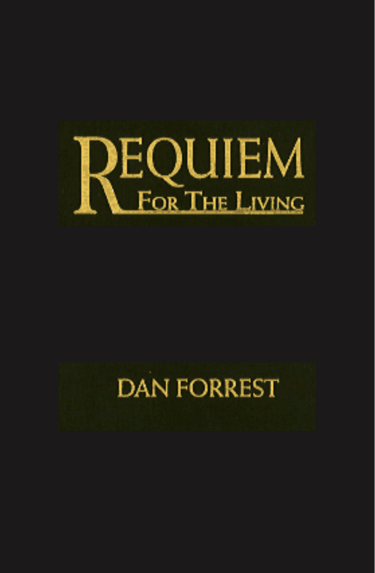 Requiem For The Living - Chamber Score