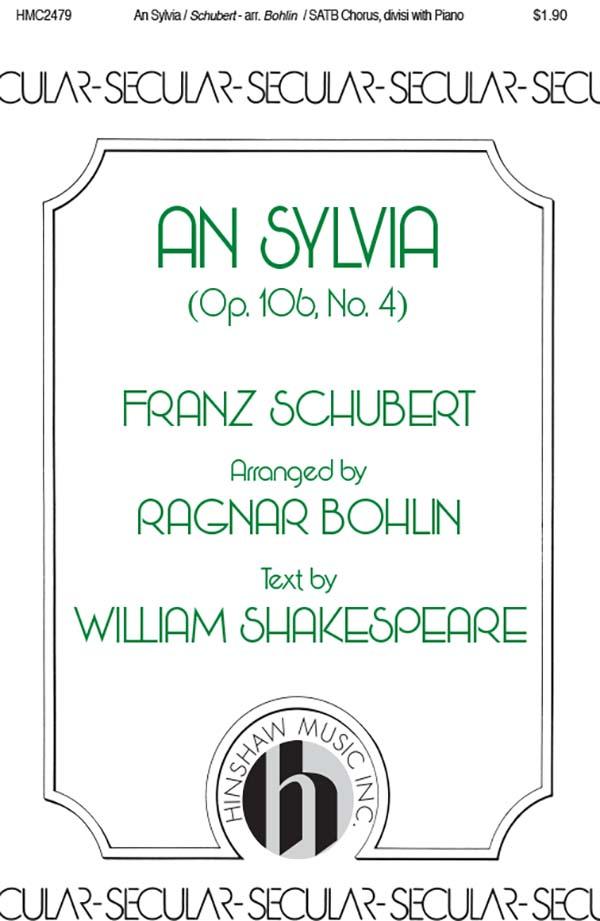 An Sylvia (Op. 106, No. 4)