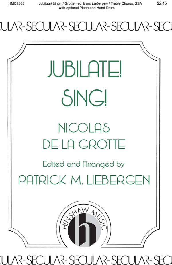 Jubilate! Sing!