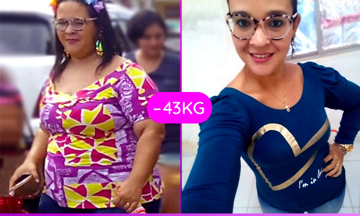 Acreditei em mim e perdi 43 kgs – Danielly Gregório
